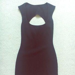 American Apparel Black Shell Dress